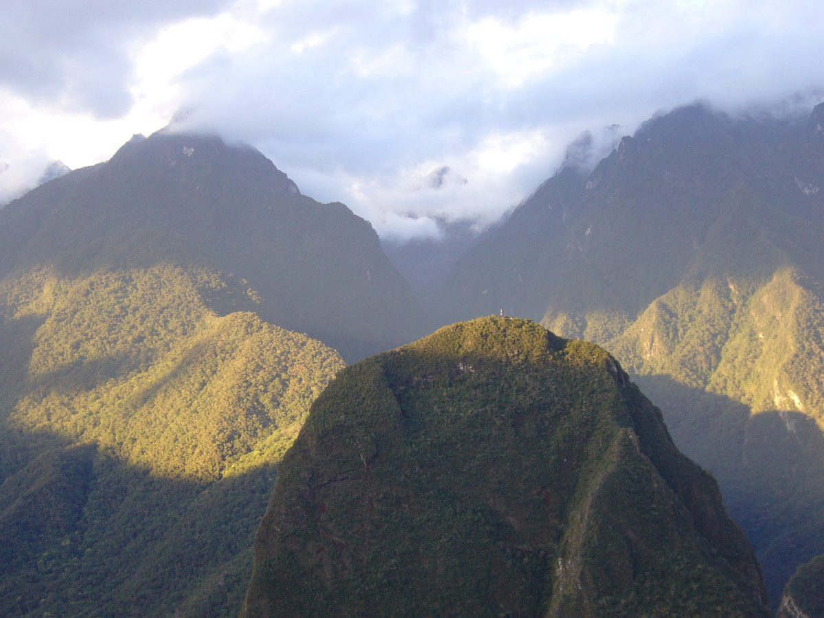 Andes surrounding Machu Picchu 8 copy